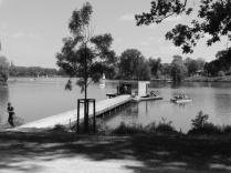 Der Steg 1960. Historisches Foto